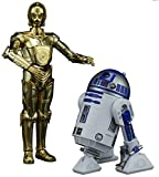 #4: Bandai Hobby Star Wars Character Line 1/12C-3PO and R2-D2, White