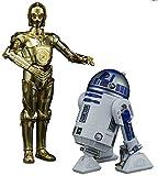 #3: Bandai Hobby Star Wars 1/12 Plastic Model C-3PO & R2-D2 Star Wars
