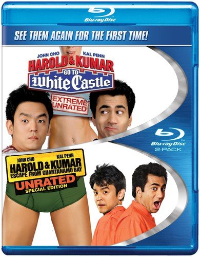 Harold & Kumar Go to White Castle / Harold & Kumar Escape From Guantanamo Bay (Double Feature) [Blu-ray] (Harold & Kumar Go To Guantanamo Bay)