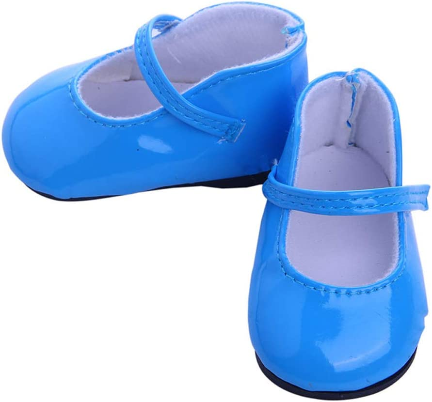 1 Pair Doll Shoes Fashion Shoes Dolls Accessories Various Style Shoes for 18 inch American Girl Dolls