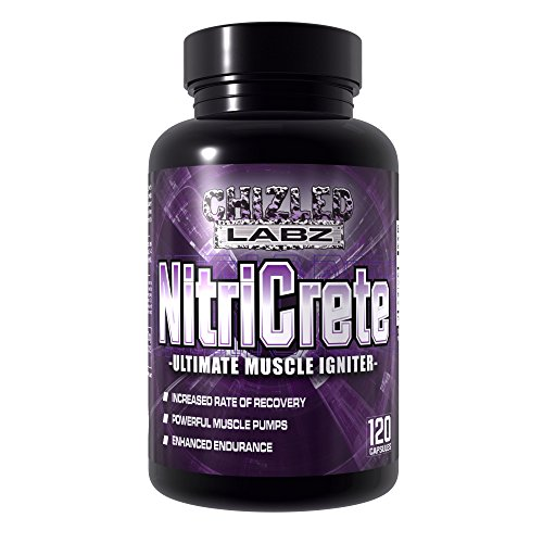 Best Creatine & Nitric Oxide Supplement- NitriCrete, Ultimate Muscle Igniter. Powerful Blend Includes Premium Creatine Monohydrate, Citrulline, and Arginine for Massive Pumps and Peak Performance. (Fuel Pump Creatine)
