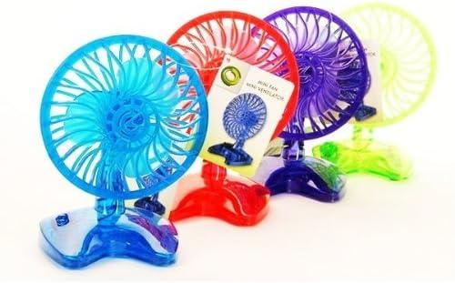 Ventilador de mesa 2 unidades color Mix Ventilador diferentes ...