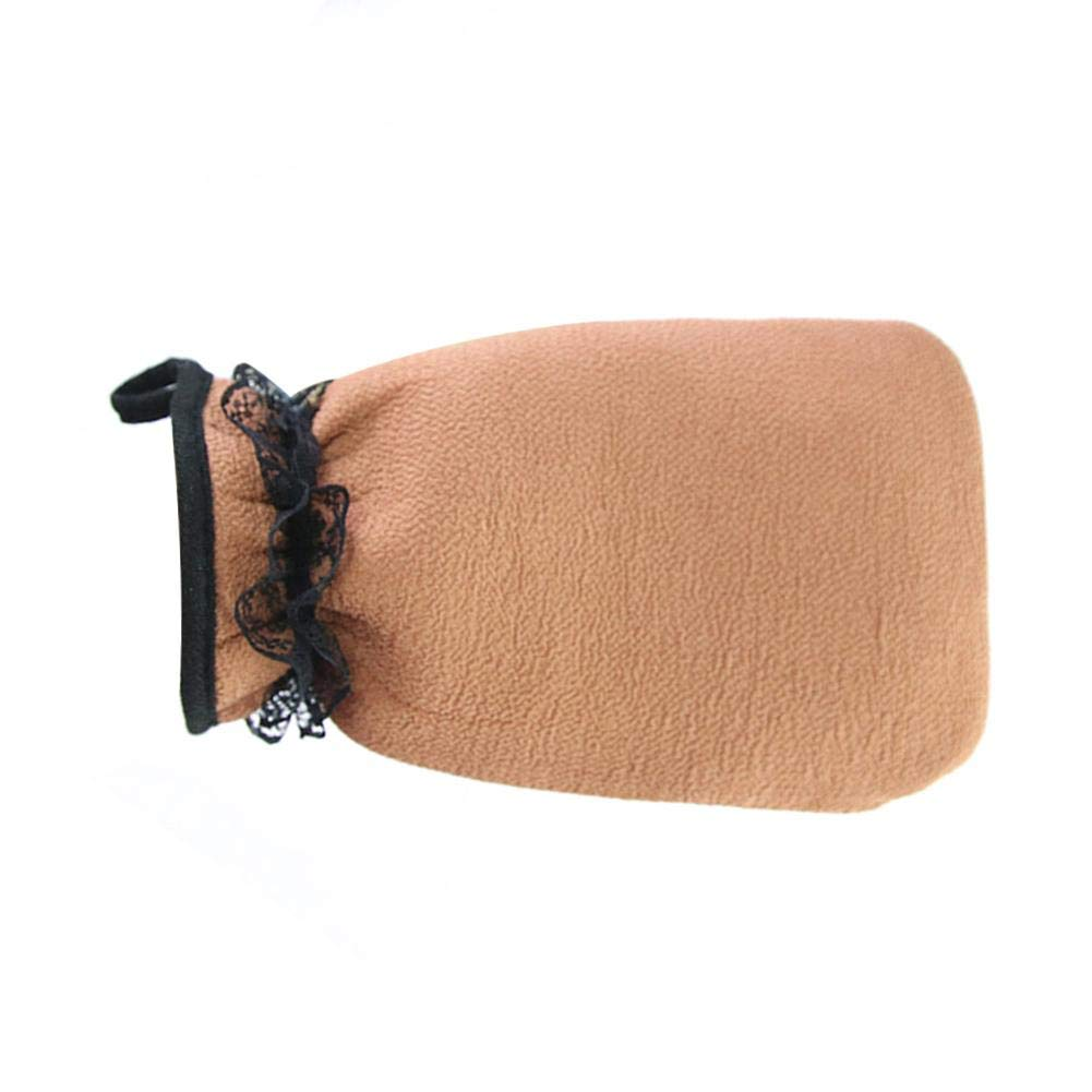 Bath Shower Scrubber Glove, Skin Friendly Sauna Dead Hard Skin Exfoliator Bath Towel for Body Scrub Exfoliator Ljourney