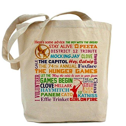 CafePress Funny Unique Design Hunger Games Tote Bag - Standard Multi-color