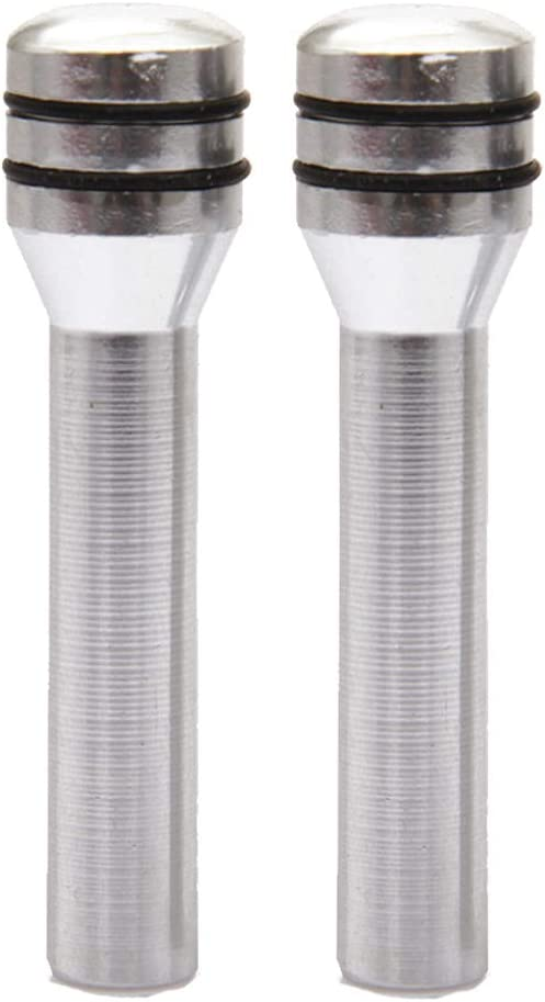 Aiming Puerta 49 mm Universal del Coche camión Interior Perilla Tire Pernos de aleación de Aluminio para Puertas de automóviles de Seguridad con Tornillo