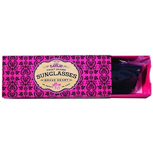"Sugar Lulu Sweet Shades Sunglasses: Brave Heart Child, 6-¼"" x 2-½"" x - & Sunglasses Sugar"