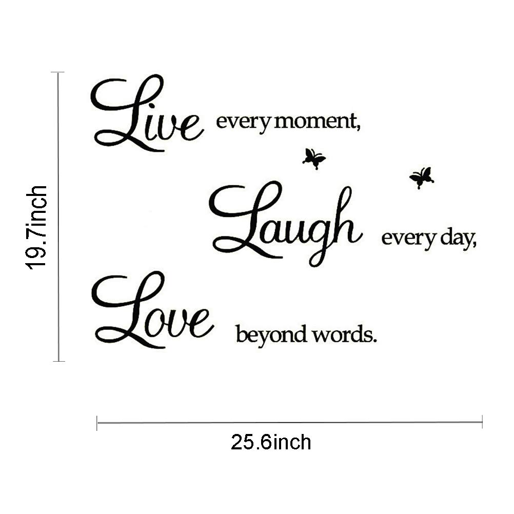 When It Rains Look for Rainbows When Its Dark Look for Stars,Wall Sticker Motivational Wall Decals,Family Inspirational Wall Stickers Quotes xiaolong