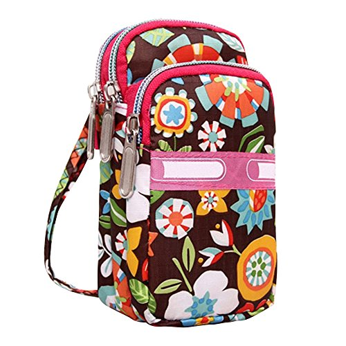 2 Girls Windmill Small Shoulder Wristlet Design Bag Ladies Wocharm Nylon Crossbody Handbags PnRwqa