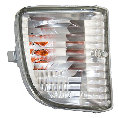 Passengers Park Signal Front Marker Light Lamp Lens Replacement for Toyota SUV 81511-42050