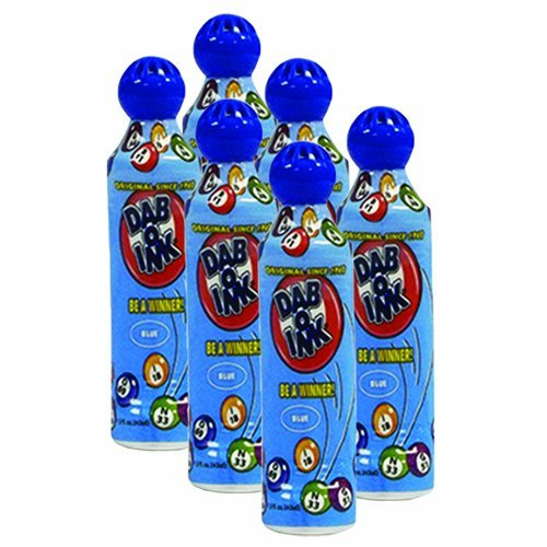 ★決算特価商品★ Six Pack 1.5 Oz Mini Mini Tip dab-o-inkブルーBingo Pack Dauber 1.5 B00H4FA8BU, 吉田町:f078cdbf --- realcalcados.com.br