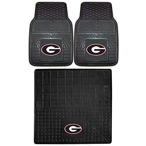 - FANMATS NCAA University of Georgia Bulldogs Vinyl Cargo Mat with Vinyl Heavy Duty Car Mat