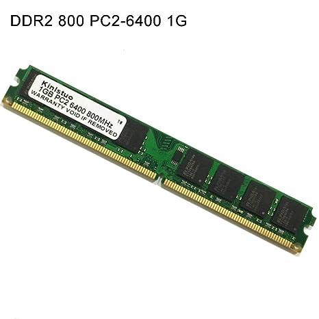 gaeruite Tarjeta de Memoria para PC, Memoria RAM Módulo de Memoria DDR2 800 1G 2G 4G PC2-6400 para computadora de ensamblaje