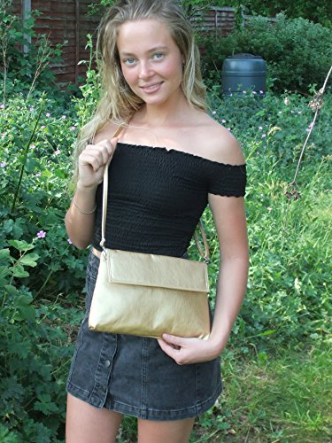 Suede Shoulder Clutch Bag LONI Womens body Charcoal Charming Purse Grey Cross Faux 4xT7RwUzq7