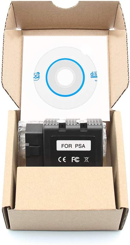 Programma diagnostico Bluetooth PSACOM BT PSA-COM per Peugeot//Citroen
