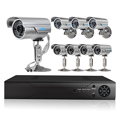 JOOAN TC-530DVR-8Y 8CH DVR H.264 Real-time Digital Video Recorder System 700TVL CCTV Security Cameras Support Remote Monitoring