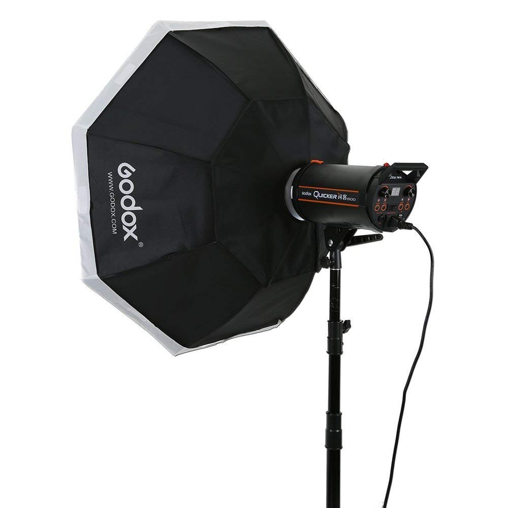 Fomito Godox 60/×90//23.6 /×35.43 portable Rectangulaire Softbox pour Godox,pour Jinbei,pour Neewer Flash et les autres studio flashs avec Bowens Mount