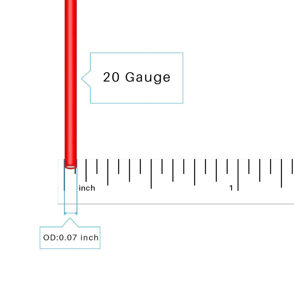 BNTECHGO 20 Gauge Flexible 2 Conductor Parallel Silicone Wire Spool Red Black High Resistant 200 deg C 600V for Single Color LED Strip Extension Cable Cord,Model,Lead Wire 25ft Stranded Copper Wire bntechgo.com