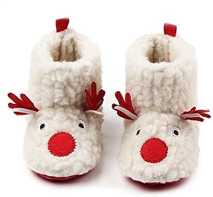 Little Kid//Big Kid Mandy❤Baby Soft Sole Warm Winter Slip On Prewalker Anti-Slip Snow Boots