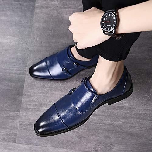 Scarpe Per Matrimonio Uomo : In pelle donna metallo scarpe blu abiti luccicanti tigre