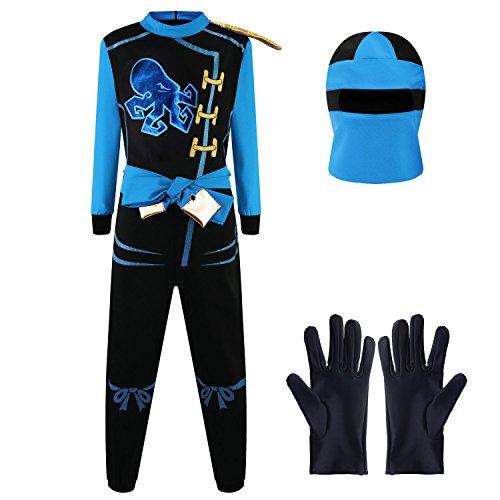 Disfraz de Ninja Dragón para Niño Carnaval Cosplay jay walker
