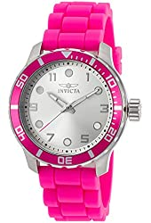 Invicta Women's 19560 Angel Analog Display Japanese Quartz Pink Watch