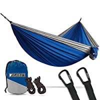 Bear Butt Lightweight Double Camping Parachute Hammock, Portable Two-Person Hammocks for Hiking & Backpacking from Bear Butt