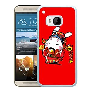 Popular HTC ONE M9 Cover Case ,Funny Xperia Z Wallpapers HD 191 White HTC ONE M9 Phone Case Fashion And Unique Design Cover Case