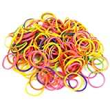 Colourful Silicone Pet Dog Puppy Hair Bands Bows Grooming Rubber Band