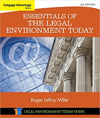 Cengage advantage books essentials of the legal environment today cengage advantage books essentials of the legal environment today miller business law today family roger leroy miller 9781305262676 amazon books fandeluxe Image collections