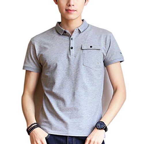 ポロシャツ メンズ 半袖 通気性 薄手 吸汗速乾 ワンポイント カジュアル ゴルフ ビジネス シンプル 無地