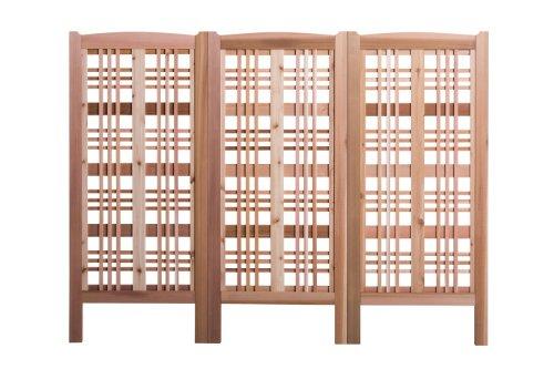 - Arboria Claremont Landscape Privacy Screen - Western Red Cedar Trellis Made in USA, 27 x 59 Inches, 3 Screens