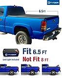 Tyger Auto TG-BC3C1009 TRI-FOLD Truck Bed Tonneau Cover 1988-2006 Chevy Silverado/GMC Sierra 1500 2500 3500 HD (Incl. 2007 Classic)   Fleetside 6.5' Bed