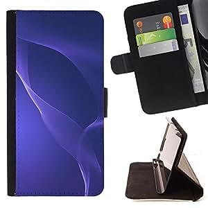 Kingstore / - Crystal Purple Waves - Apple Iphone 5 / 5S