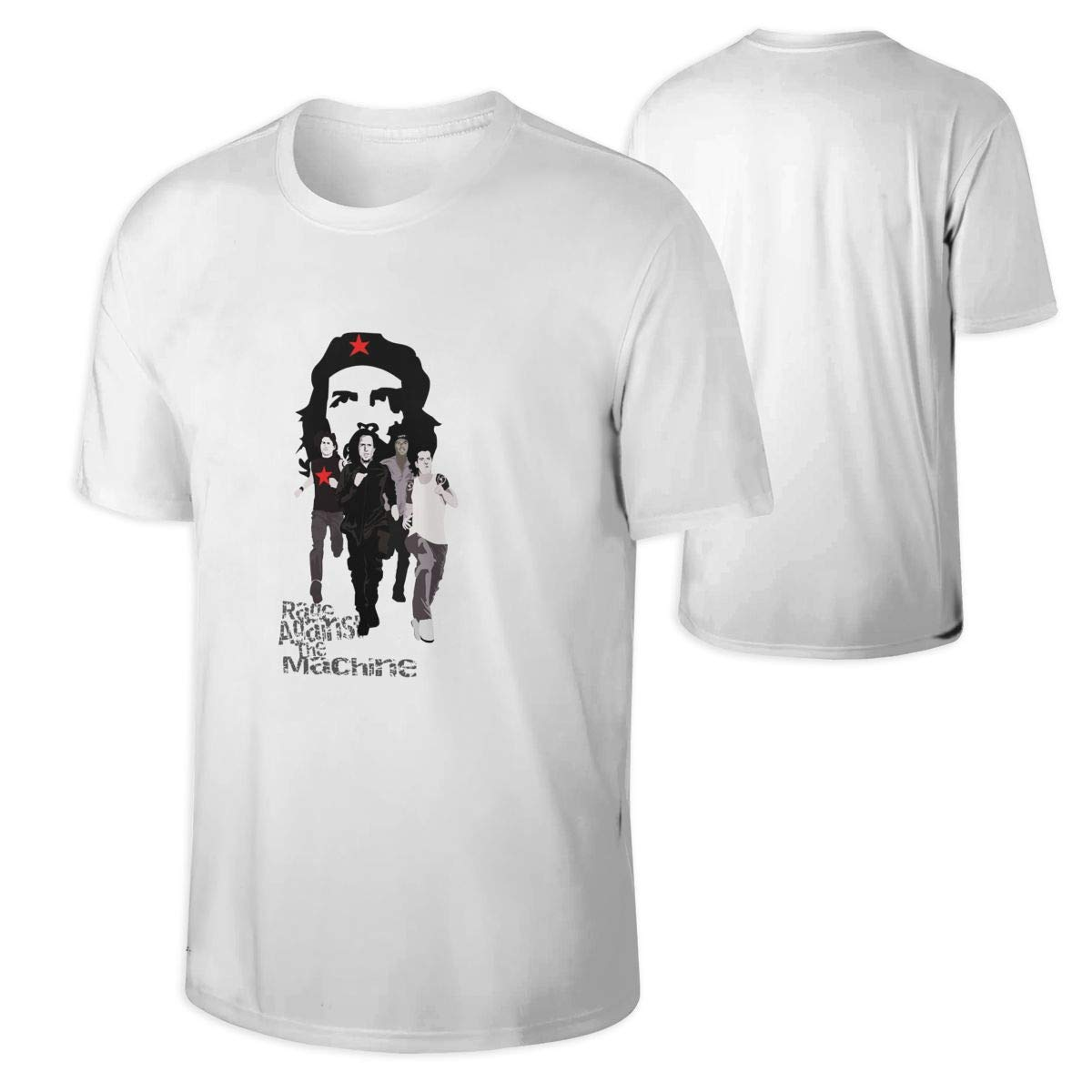 Huajianuk Rage Against The Machine Short Tshirt Printed Pullover Casual Round Neck Tees Ts