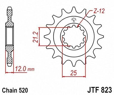 JT Sprockets JTF823.14 14T Steel Front Sprocket