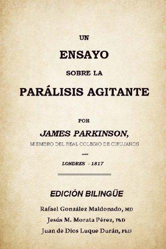 Descargar Libro Un Ensayo Sobre La Parálisis Agitante: Rafael González Maldonado