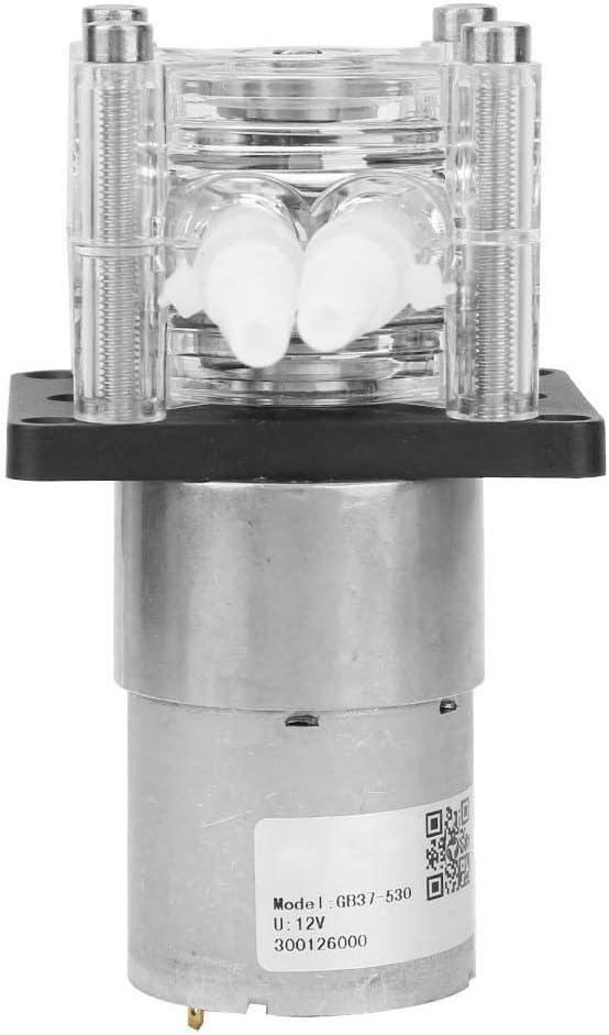 6.4mm 9.6mm 9.6mm,Roller Type:Ball Bearing ,Maximum diameter DC 12v Peristaltic Pump,Large Flow Peristaltic Pump,Tube:ID OD