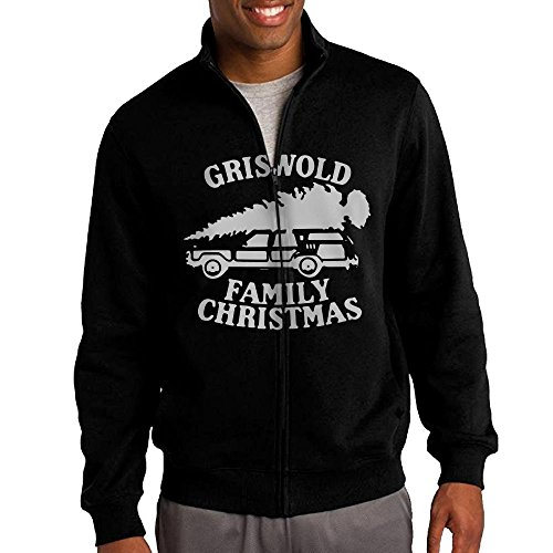 Full Cast Of Christmas Vacation - Alility Hoodie Griswold Family Christmas Vacation Full-Zip Jacket Hoodie Graphic Fleece Hoodie For Men