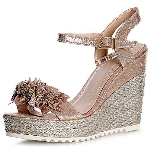 Or Femmes Topschuhe24 Sandalettes Sandales Or Femmes Sandalettes Sandales Topschuhe24 cFSxxaqw