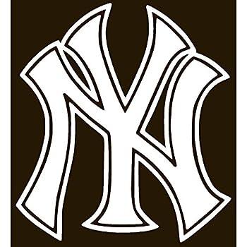 NEW YORK YANKEES Vinyl Sticker Decal 54 X 6