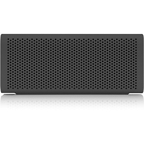 BRAVEN 705 Portable Wireless Bluetooth Speaker [12 Hr Playtime][Water Resistant] Built-in 1400 mAh Power Bank Charger - Gray