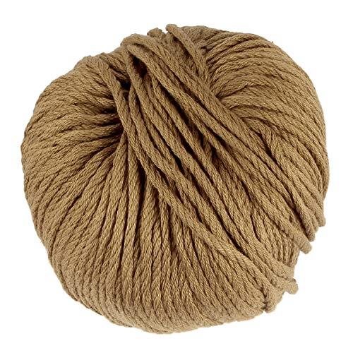(JubileeYarn Bamboo Cotton Chunky Yarn - Chestnut Brown - 2)
