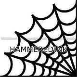 Corner Spider Web Die Cut Vinyl Truck & Car Decal Window Sticker