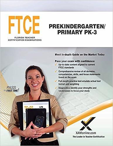 Ftce prekindergarten/primary pk-3 (053): practice & study guide.