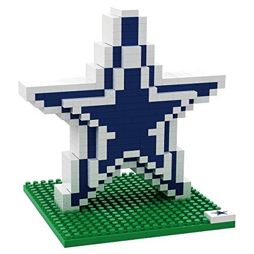 FOCO NFL Dallas Cowboys Mini BRXLZ Logo Building Blocks, One Size, Blue