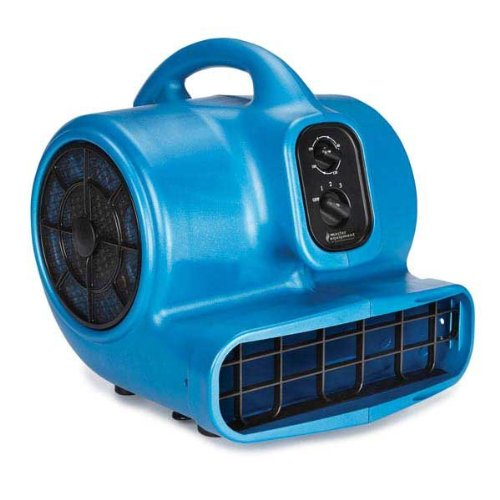 Master Equipment PetEdge Blue Force Air Dryer with Cage - Quiet Pet Fur Dryer Offers 3 Speeds Up to 2,000 CFM, 0.33 HP