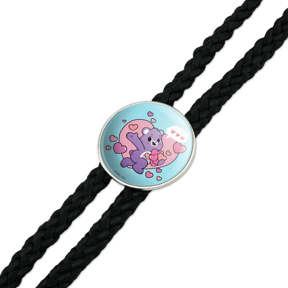 Unlock the Magic Share Bear Sharing Hearts Western Southwest Cowboy Necktie Bow Bolo Tie Care Bears
