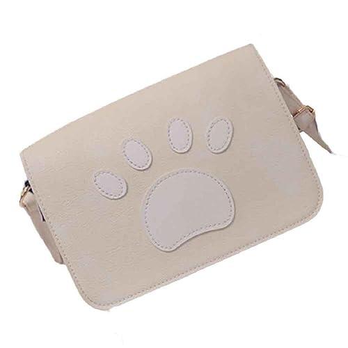 fd4df92a6784 Egmy Fashion Women Girl's Shoulder Bag PU Leather Claw Marks ...