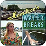 """HAMILTON'S WATER BREAKS"" - Alan Partridge - Corporate Parody - Hot Drinks Coaster - 9cm x 9cm - TV / Television Themed Design by Coasteroo"