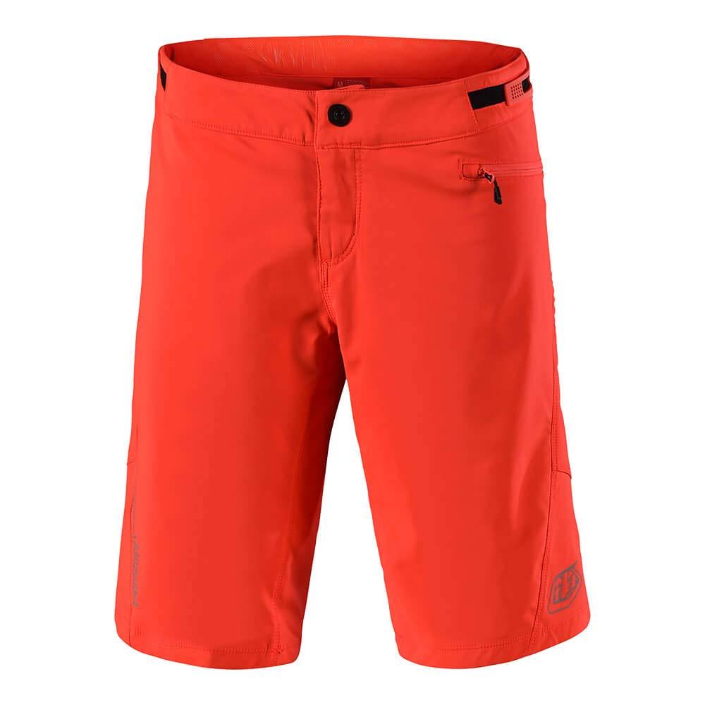 Large, Orange Troy Lee Designs Womens All Mounatin Mountain Bike Skyline Shorts